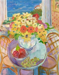 flowers with a view by geraldine douglas goldman