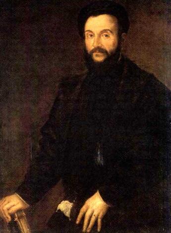 c8f04c80045a88 portrait d un homme portant un costume noir et tenant un livre by titian