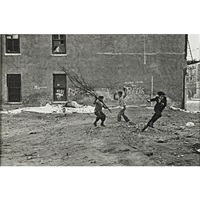 untitled (boys with branches), n.y.c by helen levitt