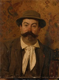 portrait de monsieur louis pretet by jean paul laurens
