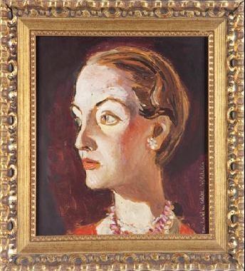 retrato de dama by josé luis caballero