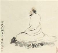 罗汉 by zhang daqian