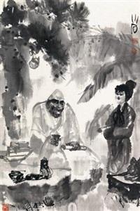 赏画图 by fu xiaoshi