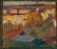 wasserburg am inn by alexej jawlensky