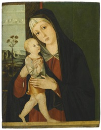 the virgin and child by jacopo da valenza