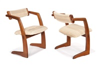 set of new chairs (4 works) by richard patterson