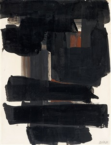 artwork by pierre soulages