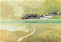 scenery by jiang zhenguo