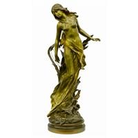 danseuse a la lyre by mathurin moreau