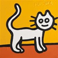 yellow cat by richard scott