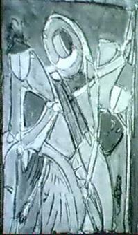 3 figuren by marie-luise albeck