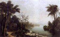 tropical landscape by edmond reuel smith