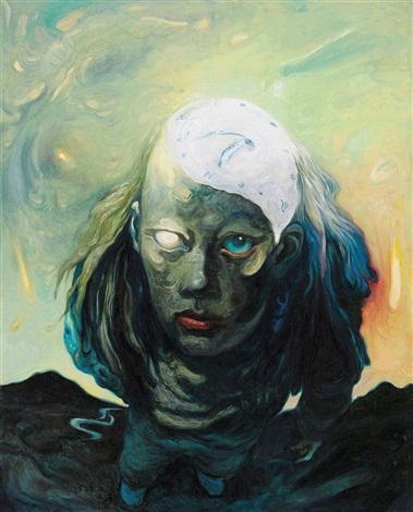 在超现实一边 (surrealism) by xia xiaowan
