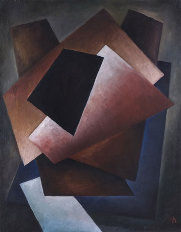 suprematistische komposition by alexander vesnin