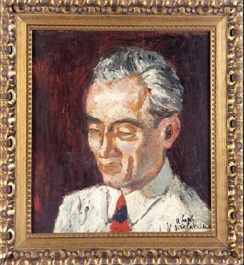retrato de caballero by josé luis caballero