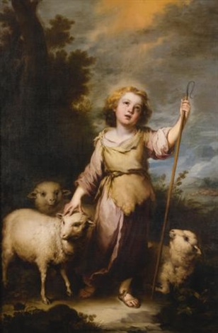 the good shepherd by bartolomé esteban murillo