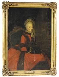 portrait of duchess phillipine charlotte of brunswick-wolfenbüttel by anna rosina lisiewski