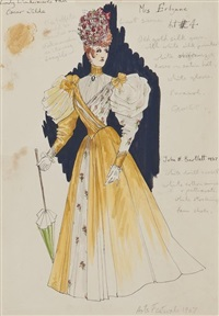 lady windermere (costume design) (+ 7 others; 8 works) by john h. bartlett