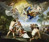 die steinigung des heiligen stephanus by luigi garzi