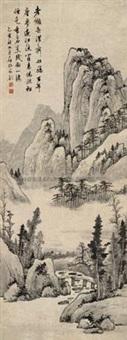 溪山 by luo mu (lo mou)