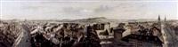 panorama von bern, vom käfigthurm aus by rudolf huber