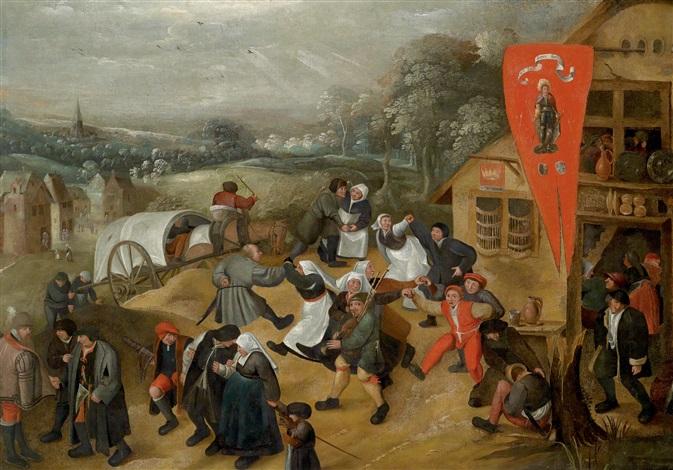 die rückkehr von der kirmes by pieter brueghel the younger