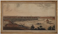 vues panoramiques de st. petersbourg (4 works) by john augustus atkinson