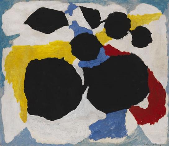 schwarz rot blau gelb bewegt by dieter goeltenboth