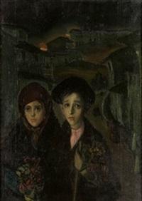 pareja de niños by jesus rodriguez corredoyra de castro