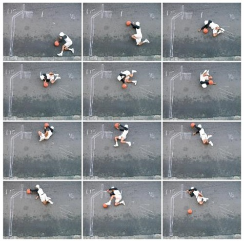 he got game (in 12 parts) by robin rhode