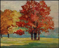 early autumn (wychwood park) by george agnew reid