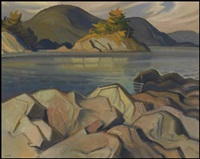 pender island, bc by henry george glyde