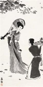 琵琶侍女 by fu xiaoshi