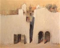pueblo andaluz by juan gutierrez montiel