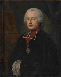 porträt eines geistlichen by johann georg ziesenis