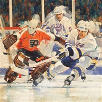 st. louis blues hockey by jim jonson