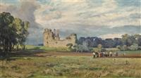 caerlaverock castle by david farquharson