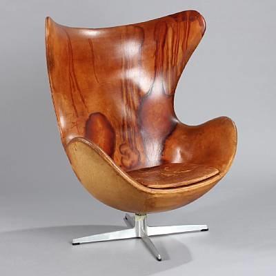 the egg chair (model 3317) by arne jacobsen