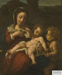 madonna del latte by correggio