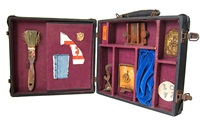 untitled (suitcase) by george herms