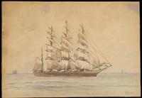 schooner by thomas moran