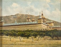monasterio de el escorial by pedro alvarez