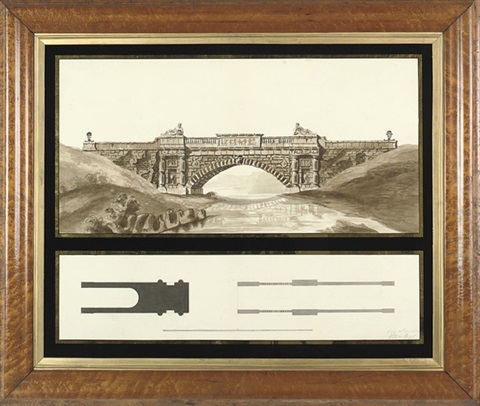 design for a neo classical bridge by henry bailey