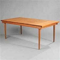 rectangular extension dining table (model fd 540) by finn juhl