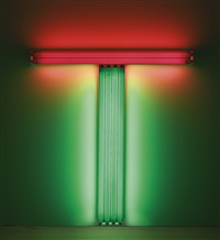 untitled (to don judd, colorist) 5 by dan flavin