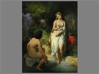 venus beim bade by nandor (krebs) rakosi