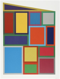 color rectangles by sol lewitt