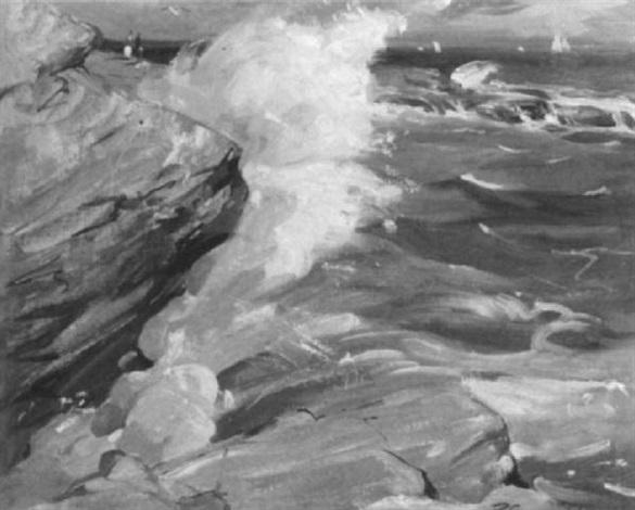 california coast by redmond stephens wright