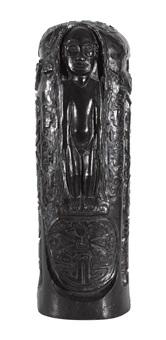 cylindre au christ à l'idole by paul gauguin
