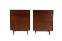 pair of chests with drawers by kipp stewart and stewart macdougall
